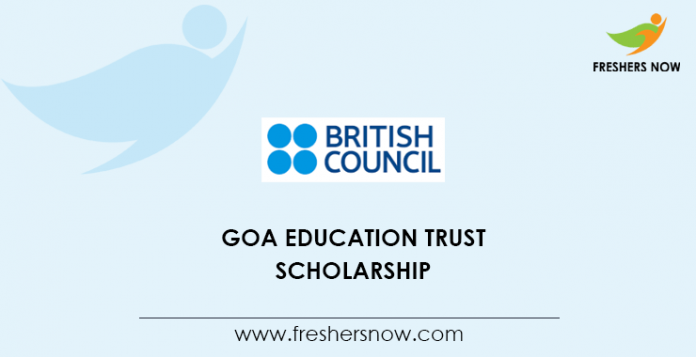 Goa Education Trust Scholarship