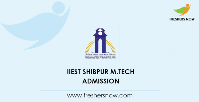 IIEST Shibpur M Tech Admission