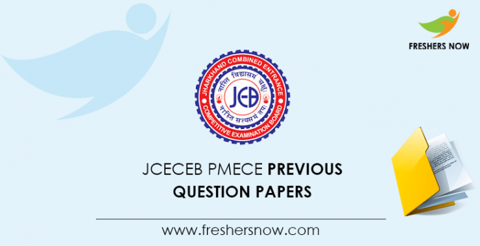 JCECEB PMECE Previous Question Papers