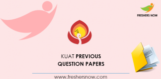 KUAT Previous Question Papers