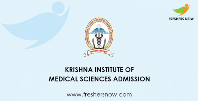 Krishna Institute Of Medical Sciences Admission