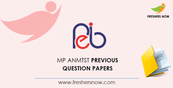 MP ANMTST Previous Question Papers
