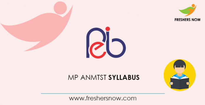 MP ANMTST Syllabus