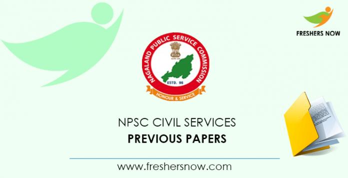 NPSC Civil Services Previous Papers