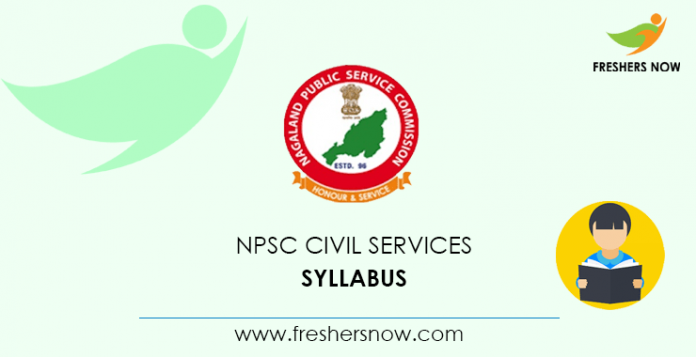 NPSC Civil Services Syllabus 2020