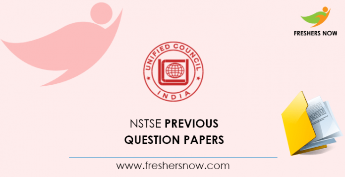 NSTSE Previous Question Papers