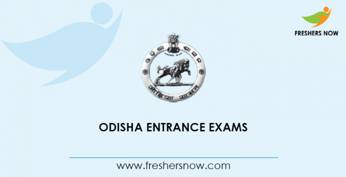 Odisha Entrance Exams