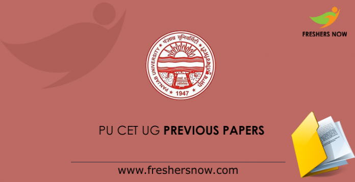 PU CET UG Previous Question Papers