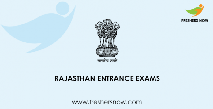 Rajasthan Entrance Exams
