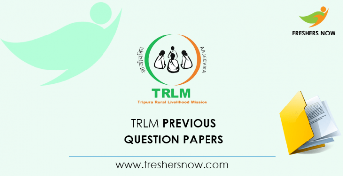 TRLM Accountant Previous Question Papers
