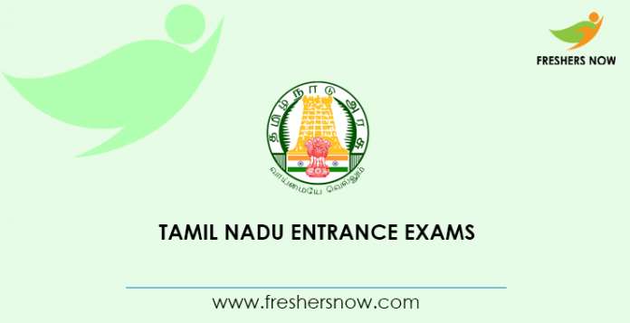 Tamil Nadu Entrance Exams