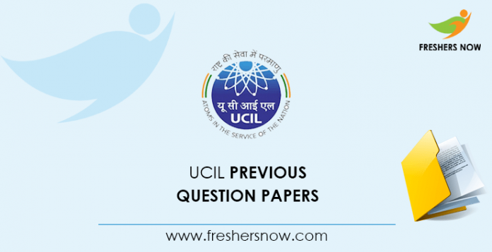 UCIL Mining Mate Previous Question Papers
