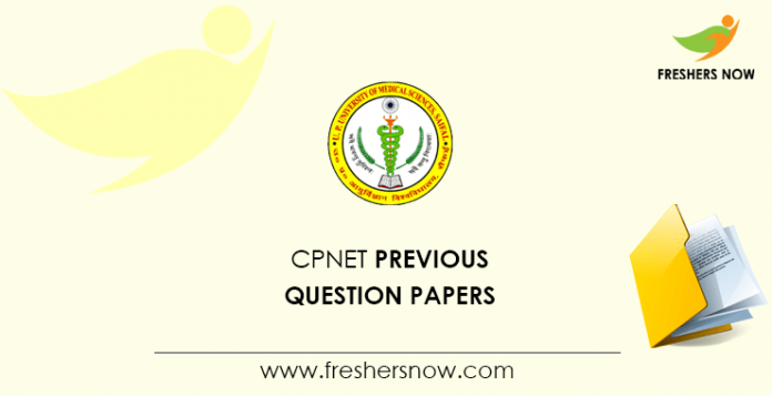 CPNET Previous Question Papers