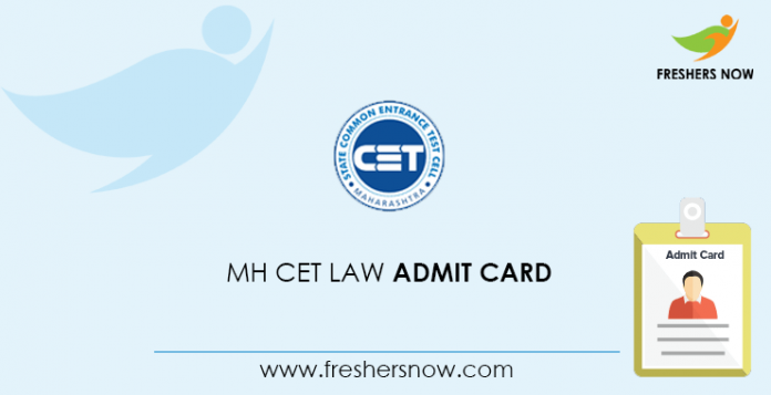MH CET Law Admit Card