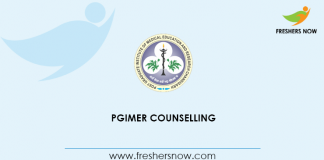 PGIMER Counselling