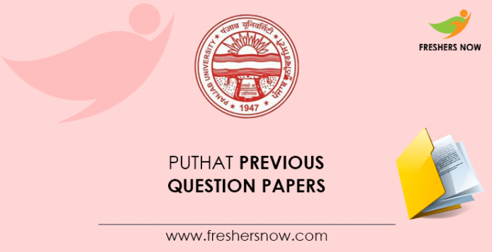 PUTHAT Previous Question Papers
