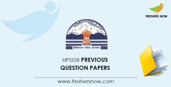 HPSSSB Shastri Previous Question Papers