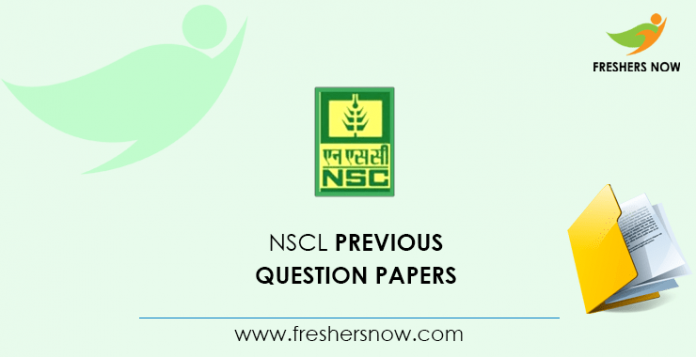 NSCL Trainee Previous Question Papers