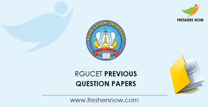 RGUCET Previous Question Papers