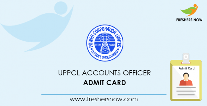 UPPCL Account Officer Admission Card