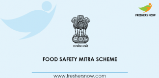 Food Safety Mitra Scheme
