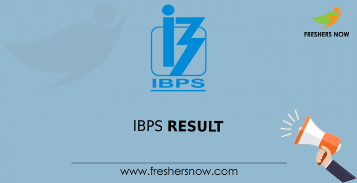IBPS Faculty Research Associate Result