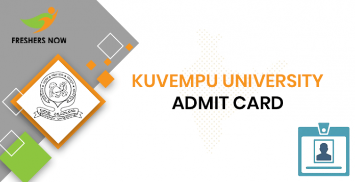 Kuvempu University Admission Card