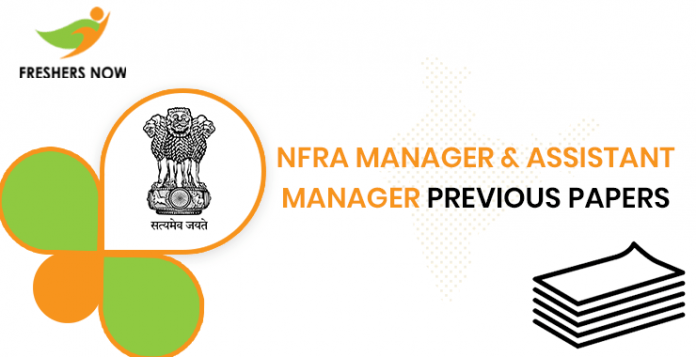 Nfra Manager Previous Question Papers Pdf Asst Manager Old Papers