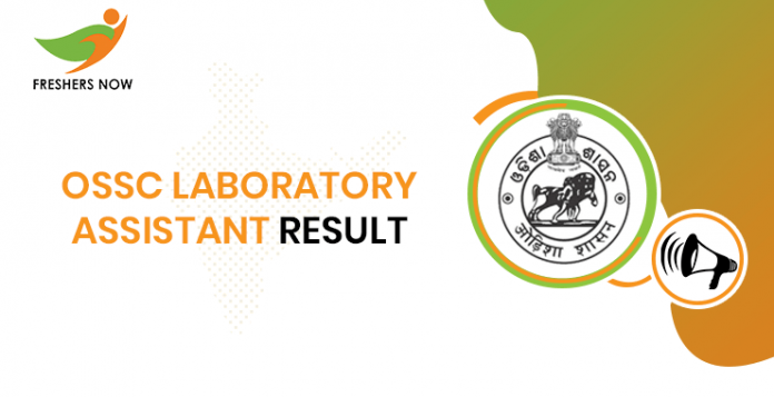 OSSC Laboratory Assistant Result