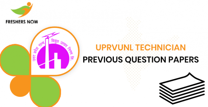 UPRVUNL Technician Previous Question Papers