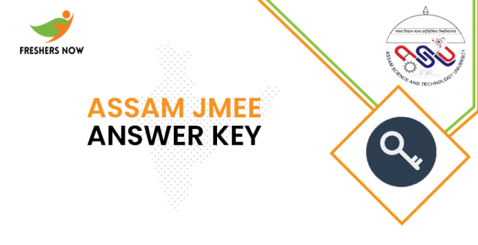 Assam JMEE Answer Key