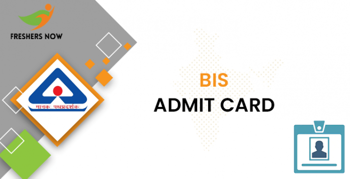 BIS Admit Card