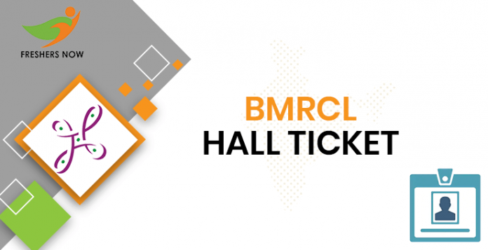 BMRCL Executive Assistant Hall Ticket