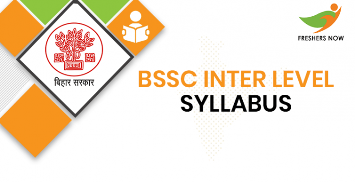 BSSC Inter Level Syllabus 2020