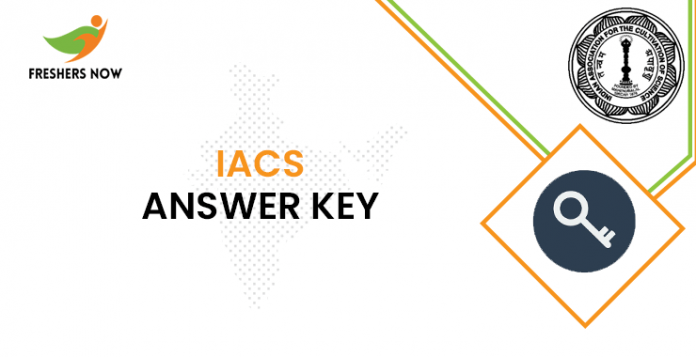 IACS Answer Key