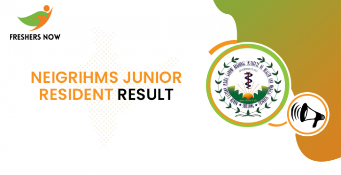 NEIGRIHMS Junior Resident Result