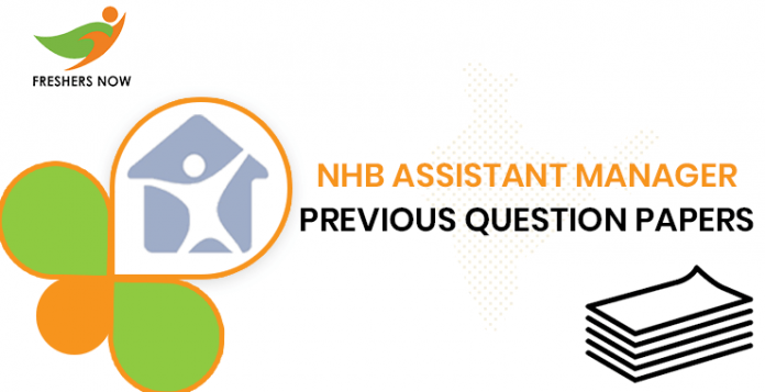 NHB Assistant Manager Previous Question Documents