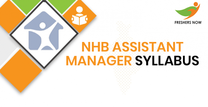NHB Assistant Manager Syllabus 2020