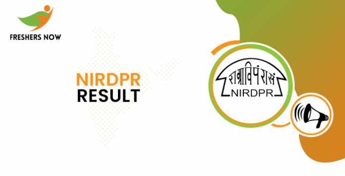 NIRDPR Young Fellow Result