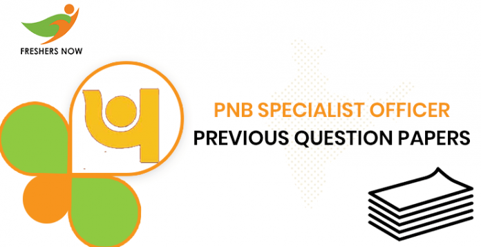 Previous Question Documents for PNB Specialist Officers