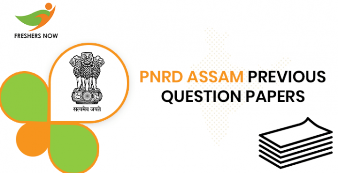 PNRD Assam Previous Question Papers