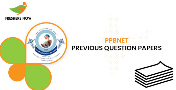 PPBNET Previous Question Papers