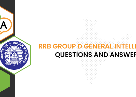 RRB Group D General Intelligence Questions and Answers