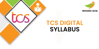 TCS Digital Syllabus