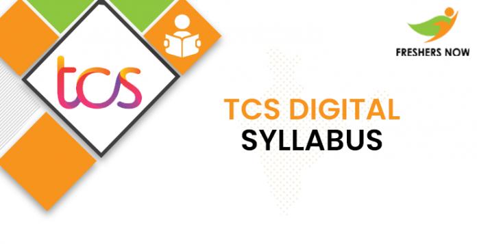 TCS Digital Syllabus