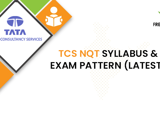 TCS NQT Syllabus & Exam Pattern (Latest)