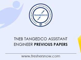 TNEB TANGEDCO AE Previous Question Papers