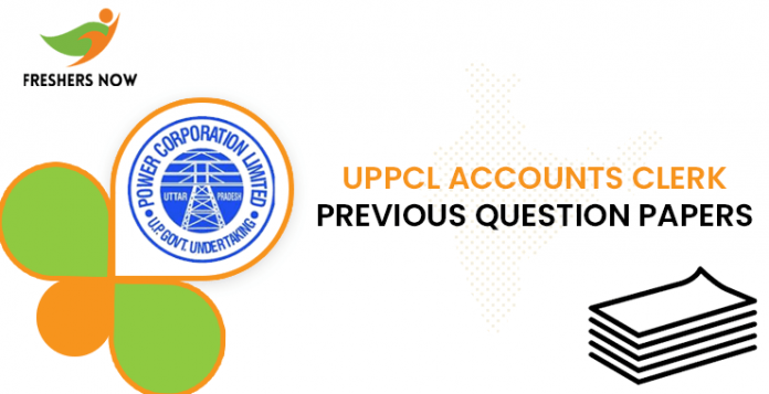 UPPCL Accounts Clerk Previous Question Papers