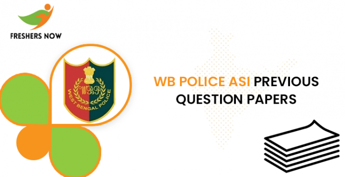 WB Police ASI Previous Question Papers