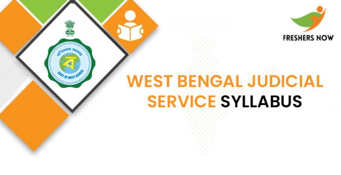 West Bengal Judicial Service Curriculum 2020